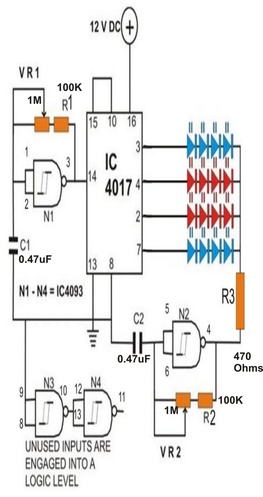 Led Strobe Light Circuit Diagram Stroboscope Med Repru