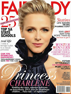 Charlene Wittstock Photos from Fairlady Magazine Cover June 2014 HQ Scans