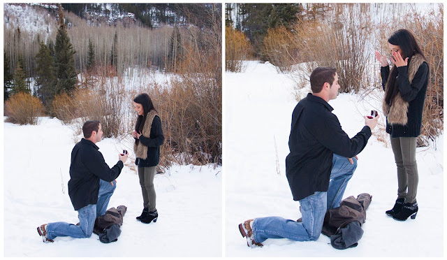 Vail Wedding Proposal
