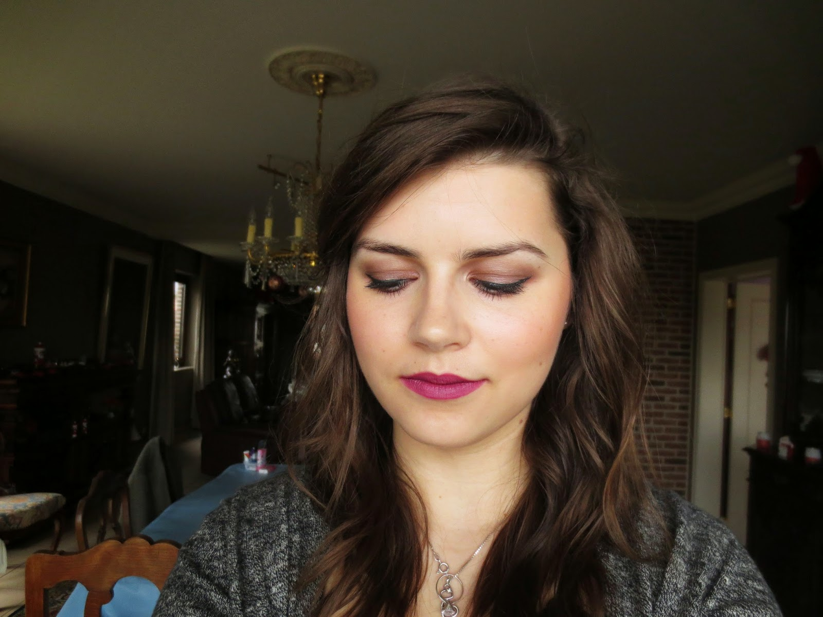 Ysl Rouge Pur Couture Rose Boheme my sprinkles of love: what's on my face #20 - winter make-up