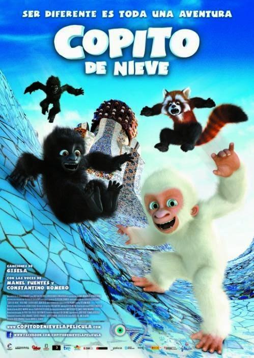 O Gorila Branco: Floco de Neve – Dublado (2011)