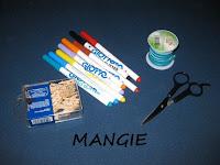 ;Materiales usados guirnaldas
