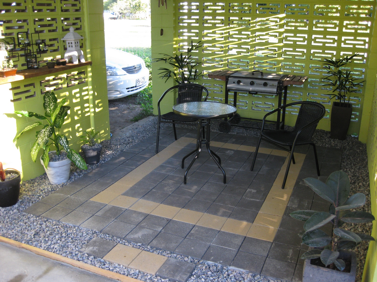 Small Back Patio