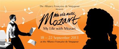 Ma vie avec Mozart, Quest Interactive, Alliance Francaise de Singapour, Singapore, Crowdonomic, Crowd funding, theatre