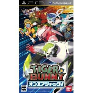 PSP Tiger & Bunny: On-Air Jack!