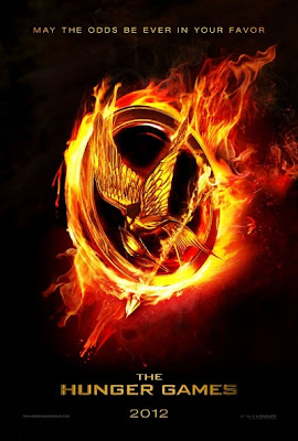 THE HUNGER GAMES 2012 MOVIE POSTER