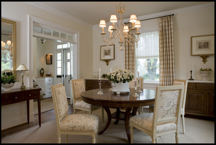 I Think You Could Get A Dinner Party To Linger Quite While In This Dining Room Very Calming