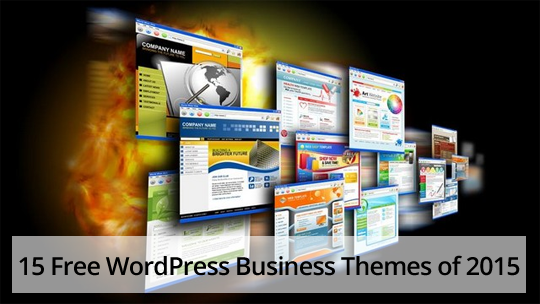 15 Free WordPress Business Themes of 2015