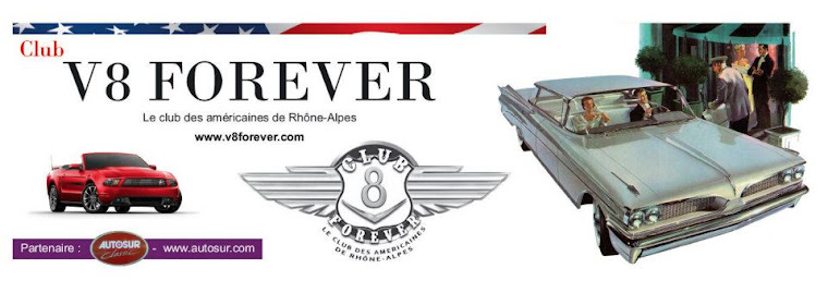 Membre du club V8 Forever