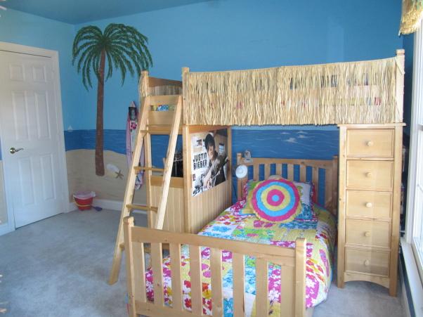 Beach Themed Girls Bedroom Ideas