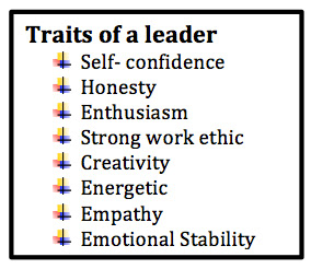 essay about characteristics of a leader