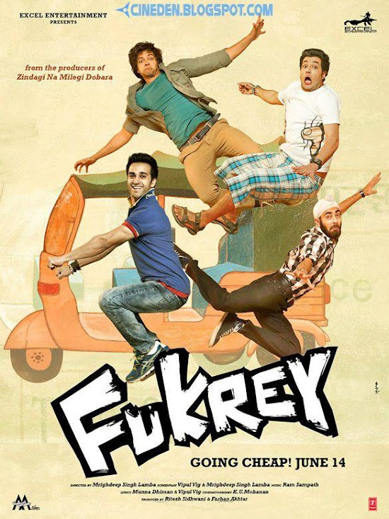 Fukrey (2013) - Hindi Movie Review
