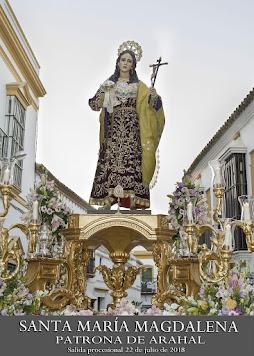 Cartel Fiestas Patronales de Arahal 2018