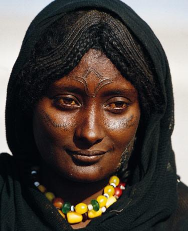 tribal facial markings