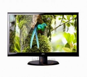 Buy AOC e950Swn 18.5 Inch Wide LED Monitor for Rs.5180 at Infibeam : BuyToEarn