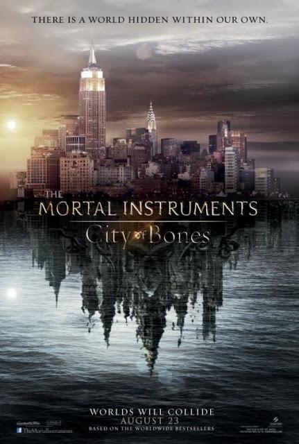 Poster de Mortal Instruments:City of Bones - Cazadores de Sombras: Ciudad de Hueso