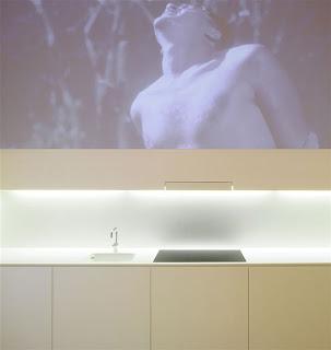 minimalist white cabinet