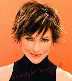 coiffure-2014-coloration coiffure 2014 cheveux colores courts