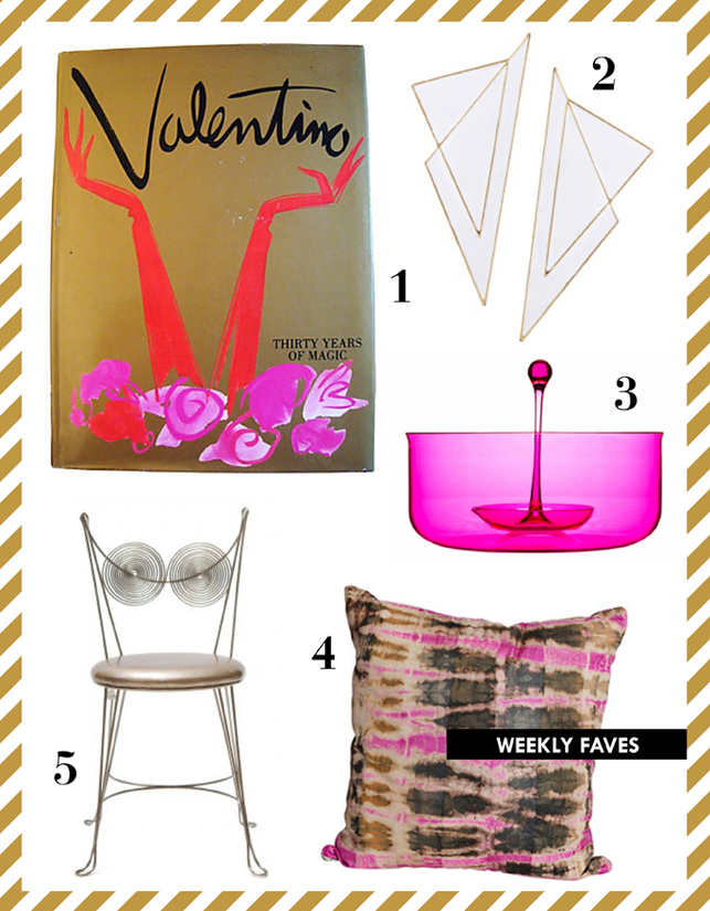 mimiandmegblog.com : WEEKLY FAVES: Pink + Gold