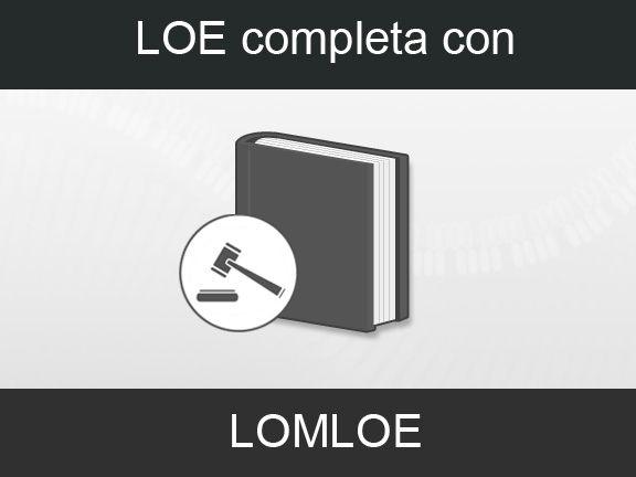 LOE con LOMLOE