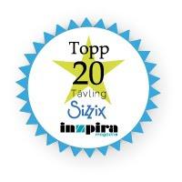 Jag kom på 13:e plats i Inzpiras stora tävling