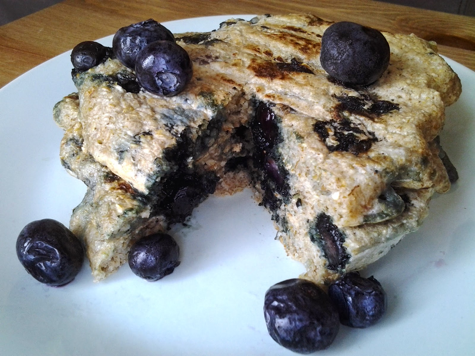 blueberry pancake george foreman