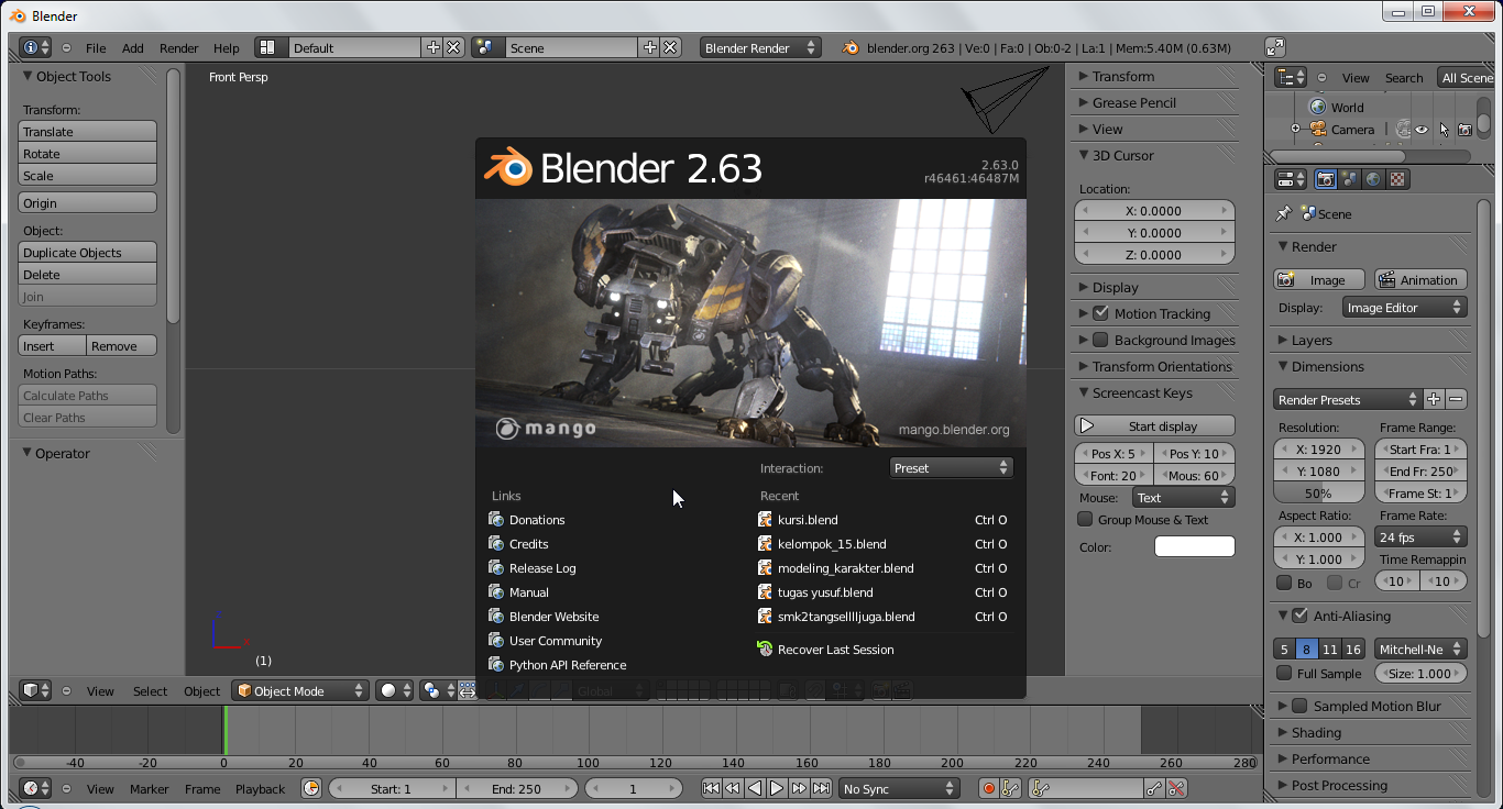 how to download blender on windows 7