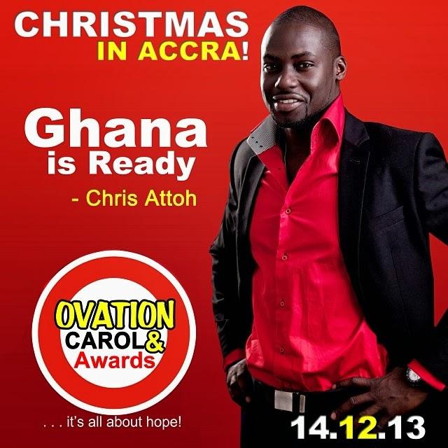 ovation christmas carol accra ghana