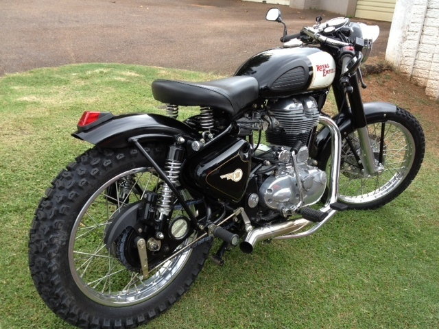 Rising Jack Kustoms Royal Enfield Bobber Stolen From Www