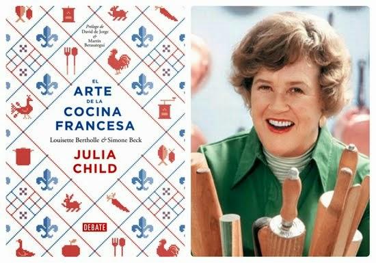 """Por fin en español, el libro de Julia Child, popularizada por la película """"Julie y Julia"""""""