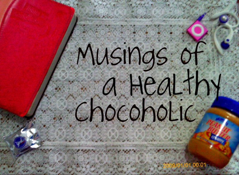 Musings of a Healthy Chocoholic