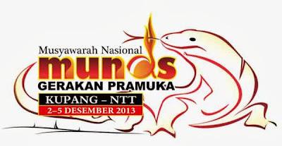 Logo Munas Pramuka 2013