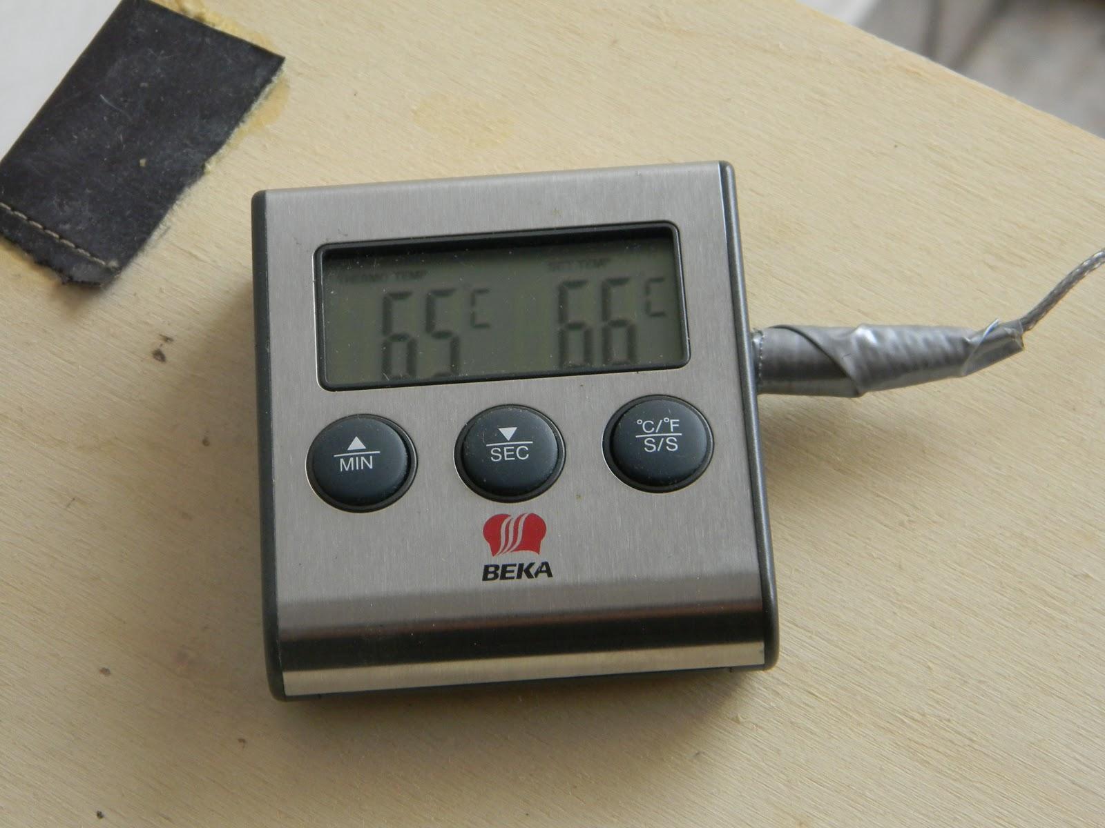 Attrezzatura per fare la birra artigianale in casa - Termometro da cucina ikea ...