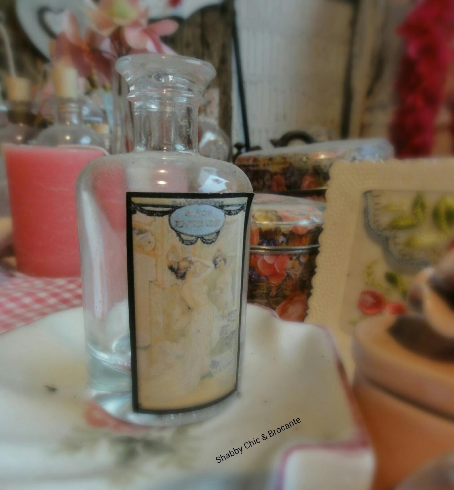 Shabby Chic & Brocante alte antike Flaschen