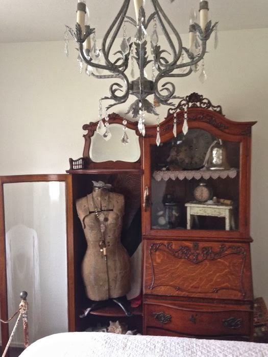 Tricia Everett's Guest Bedroom Vignette The Red Door Antiques