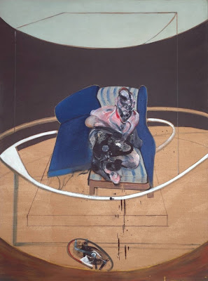 Francis Bacon - Study for portrait on folding bed,1963.