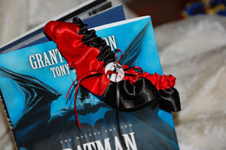 Harley Quinn Garter - Uniquely Yours Bridal