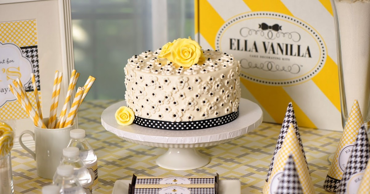 Cake Decorating Kit Of The Month : Kate Landers Events, LLC: DIY Fondant Cake Decorating Kits by Ella Vanilla {Product Feature}