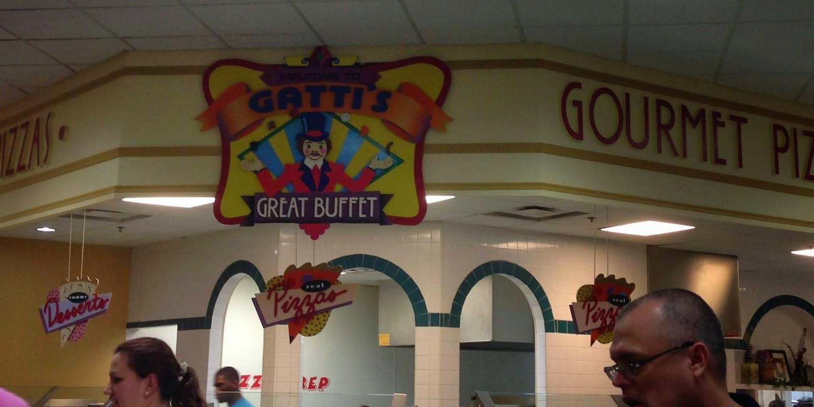 Unlimited Pizza At Gatti S Universal City Tx