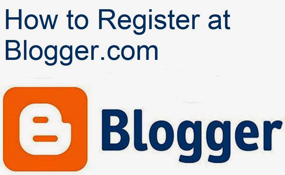 How to Register at Blogger.com : eAskme