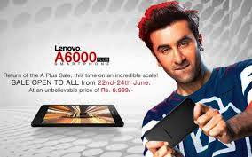 Lenovo A6000 plus smartphone gets more price buy best phone now