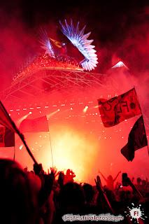 Glastonbury Festival. 2013. The Pyramid. The Rolling Stones. Phoenix