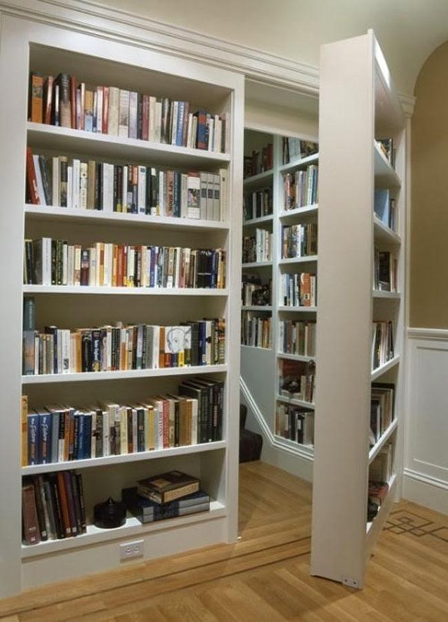 passagem secreta,prateleira,curiosidades,livros