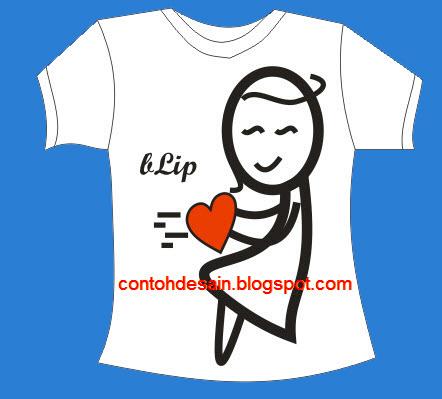 Desain Kaos So Sweet Cewek dan Cinta