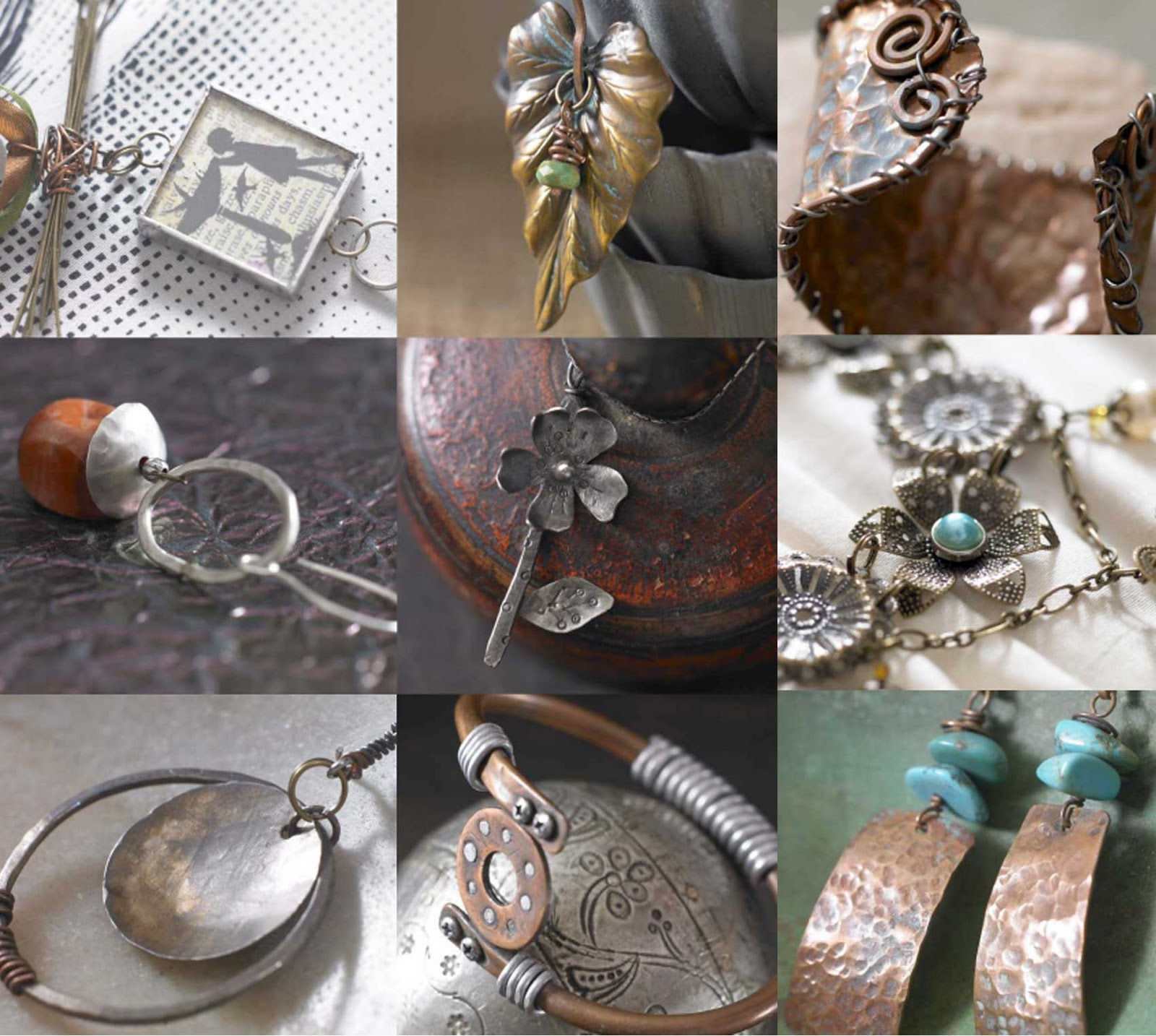 how to make metal jewelry at home