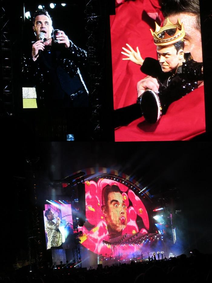 """Robbie Williams """"Take the Crown""""-Tour in der Krieau / Wien [17.07.2013]"""
