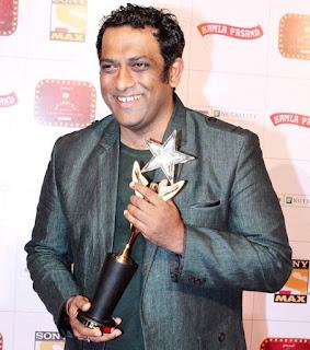 Anurag Basu with 'Best Director' Award