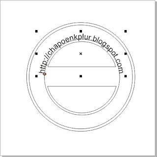 Cara Membuat Desain Stempel Di CorelDraw X4