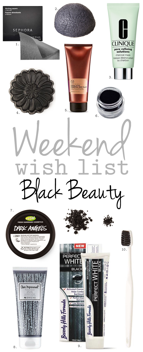 Weekend Wish List – Black Beauty