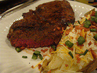 Ribeye Steak Chili Garlic Butter